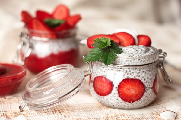 Chia-pudding-with-strawberries-in-small-bowls-on-a-linen-tablecloth-Rustic-style_shutterstock_621918056.jpg